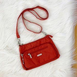 NWOT Baggallini | Red Nylon Wallet Crossbody Bag